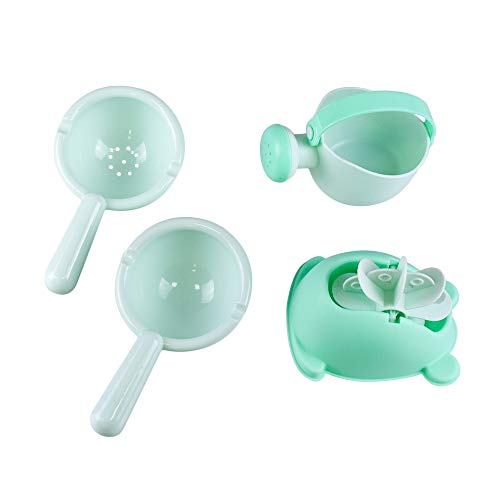 Topwon Bathtime Fun - Baby Bath Toy, Shower Bathtub Frog Spout,Watering can Bathtub Games for Baby Toddler (Toy Watering Can)