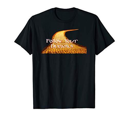 T-shirt Tee shirt Wizard of Oz Follow Your