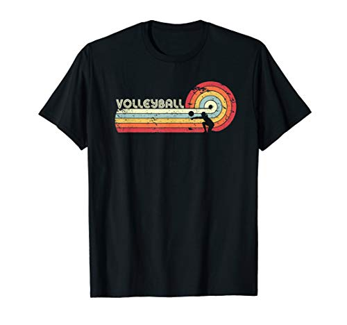 (Volleyball Shirt. Retro Style T-Shirt)