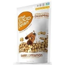 The Good Bean Sweet Cinnamon Chickpea Snack, 6 Ounce - 6 per case.