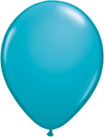 Tropical Teal 16' Qualatex Latex Balloons x 5 by Qualatex