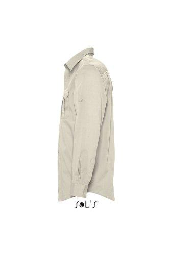 Sols - Bolivia men - Herren Hemd Langarm , Rope , XL