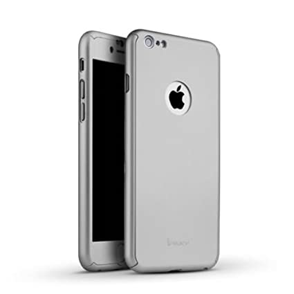 iphone 6 silver front. cedo® 360 degree full body protection front \u0026 back case cover (ipaky style) iphone 6 silver