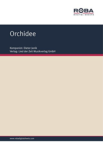 orchidee-single-songbook-german-edition
