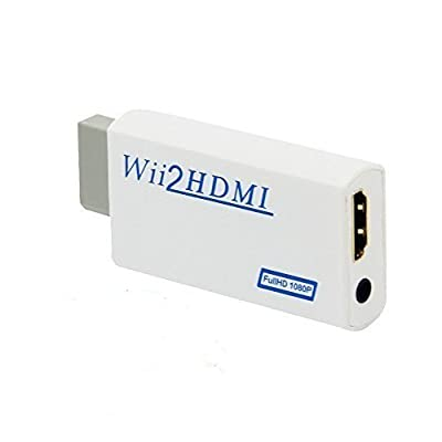 Wii to HDMI 720P / 1080P HD Output Converter 3.5mm Audio Video Output Wii Convertor-Convert Wii To HDMI