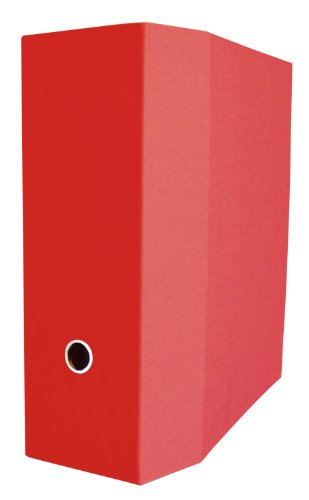 aurora-gb-elements-storage-binder-4-inch-d-ring-8-1-2-x-11-inch-size-red-linen-embossed-eco-friendly