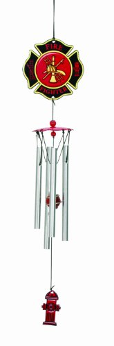 Spoontiques Firefighter Wind Chime