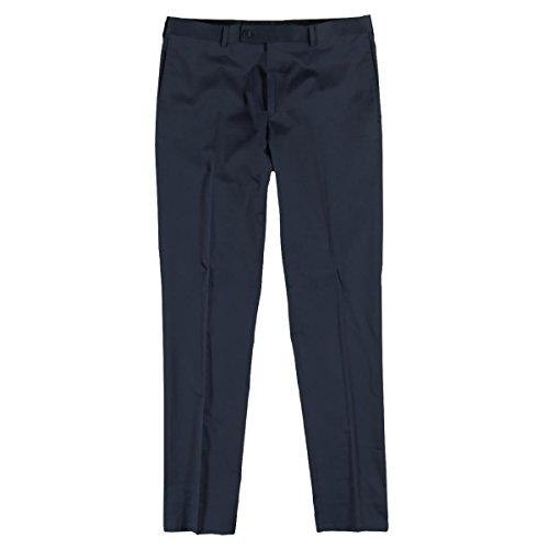 emilio adani Herren Anzughose slim fit, 25185, Blau