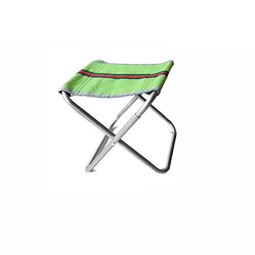 Mini taburete plegable portable, silla de plegamiento al aire libre de la silla más floja para acampar, pesca, recorrido,...