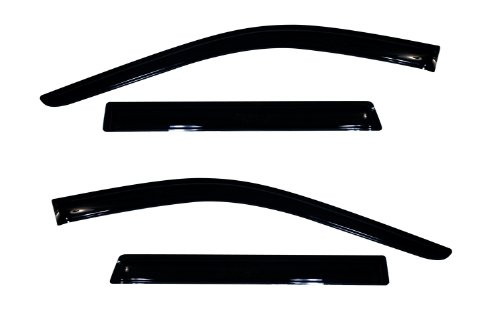 Guards 2018 Jeep - Auto Ventshade 94252 Original Ventvisor Side Window Deflector Dark Smoke, 4-Piece Set for 2011-2018 Jeep Grand Cherokee