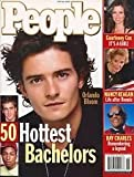 People Magazine June 28, 2004 50 Hottest Bachelors Orlando Bloom