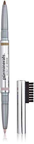 Pur Minerals Wake Up Brow Dual-Ended Brow Pencil, Blonde Roast, 0.01 Ounce