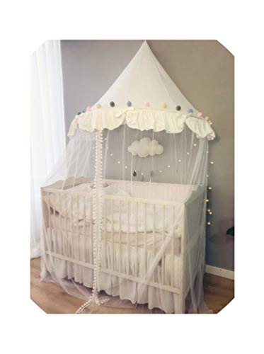 Baby Mosquito Net Bed Canopy Play Tent for Children Kids Play House Canopy Bed Curtain for Bedroom Girl Princess Decoration Room