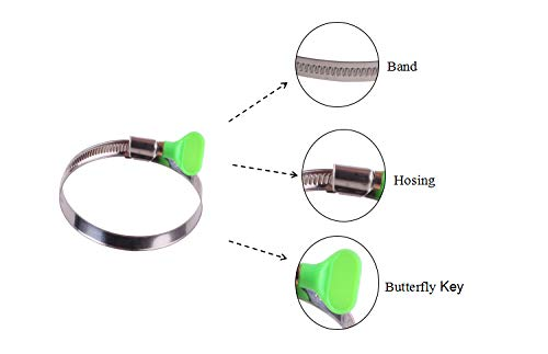 Buy stainless steel 1 2 hose clamps