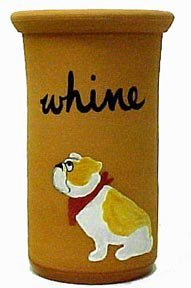 English Bulldog Whine Cooler