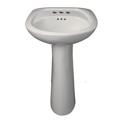 Basin Pedestal 3 Hole (ProFlo PF5004 20