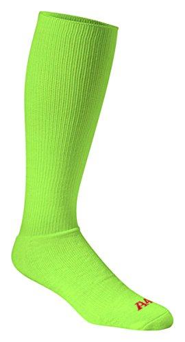 a4-s8005-multi-sport-tube-socks-lime-medium
