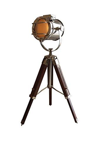 Price comparison product image AVION CINEMA TRIPOD LAMP - 1940's Hand Made Replica