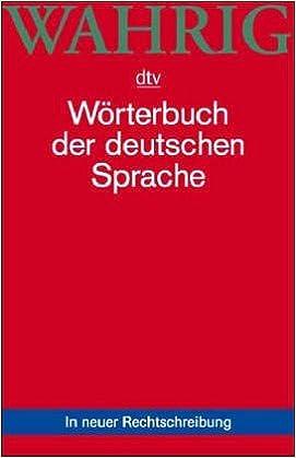 Book Worterbuch Der Deutschen Sprache (Dtv-Wahrig)