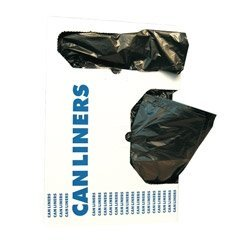 Heritage Bag Low Density Black Trash Bags, 1.5 Mil, 40 X 53, 5 Packs of 20 (HERH8053TK) Category: Commercial Can Liners 40 X 53 Tyco Plastics ZXA00977