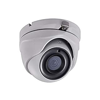 Monoprice 5MP HD-TVI Turret Security Camera 2560x1944@20fps - White with a 2.8mm Fixed Lens,  Matrix IR 2.0, Night/Day Color Vision, and IP66 Waterproof Rating