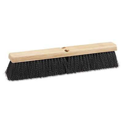 - Boardwalk Floor Replacement Brush Head, 18 inches, Polypropylene Bristles