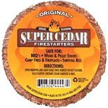 SUPER CEDAR FIRESTARTERS 100 count
