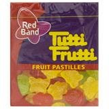 Tutti Fruiti Fruit Pastilles Jellies Marshmellow Red Band 15g.(pack of 6)