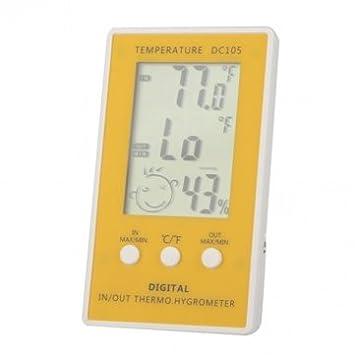 lcd termómetro digital termostato metros higrómetro la humedad de la temperatura con sensor externo con cable