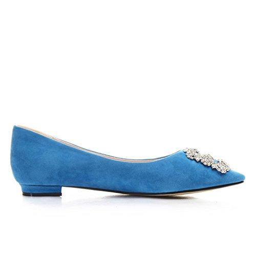 Zapatos de moda/zapatos bajo acentuados poco profundos/Joker dulce Coreano establece el pie zapatos A