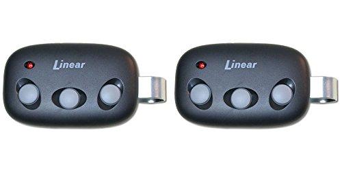 (Linear Megacode MCT-3 3-Channel Visor Transmitter Lot of 2 )