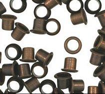 WIDGETCO 1/4'' Antique Brass Shelf Pin Sleeves