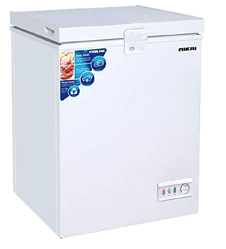 Nikai 150L Chest Freezer, White - NCF150N7, 1 Year Warranty