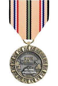 Medals of America Desert Storm 25th Anniversary Commemorative Medal Bronze