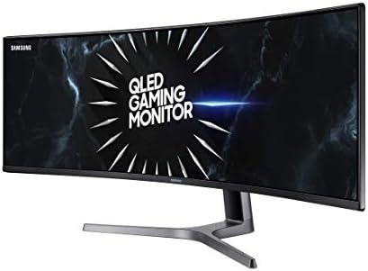 SAMSUNG LC49RG90SSNXZA 49-Inch CRG9 Curved Gaming Monitor, Black
