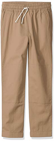 LOOK by Crewcuts Boys' Lightweight Pull on Chino Pant, Khaki, XX-Large (14)