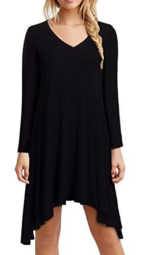 HOMEYEE Womens Sleeve Casual T Shirt