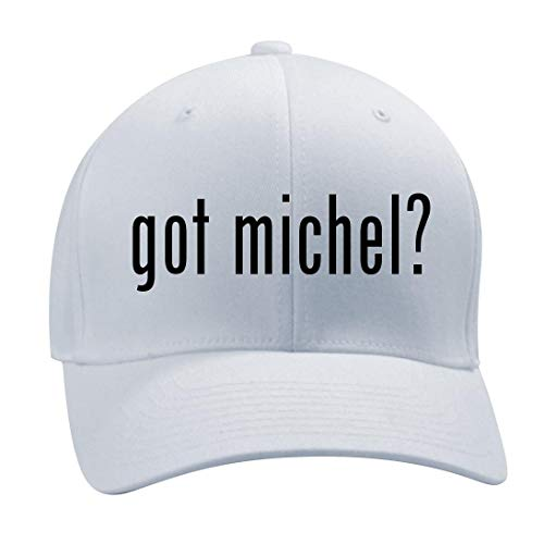 08 Cap Obama (got Michel? - A Nice Men's Adult Baseball Hat Cap, White, Large/X-Large)