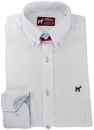 Camisa Oxford Blanca Hombre - Color - Blanco, Talla - L: Amazon.es: Ropa y accesorios