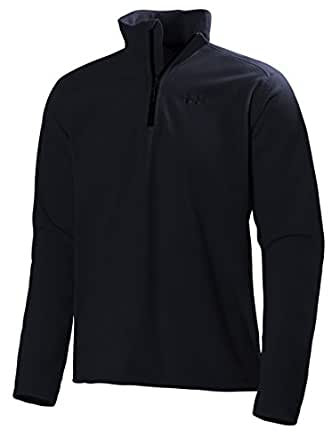 Helly Hansen Men's Daybreaker 1/2 Zip Lightweight Fleece Pullover Jacket, 599 Navy, Small