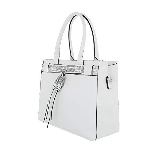 Sac design Weiß Femme L'épaule À Porter Pour Ital 1AqxS54q