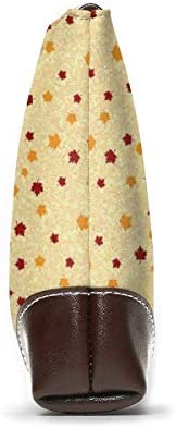 GLGFashion Pochette en cuir Sac à main Bourse Women's Leather Wristlet Clutch Wallet Thanksgiving Day Turkey Storage Purse With Strap Zipper Pouch
