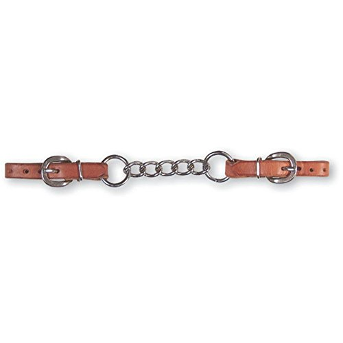 - Martin 5-Link Harness Leather Curb Strap