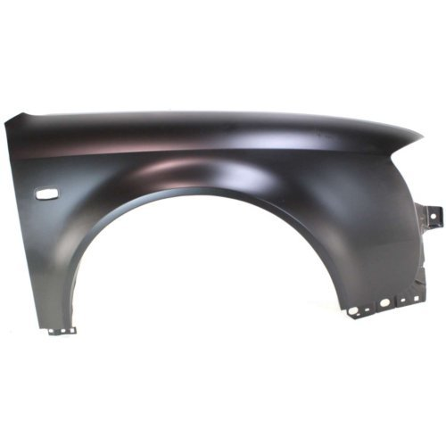 Garage-Pro Fender for AUDI A6 2002-2004 RH with Square S.L. Hole 2.7L/3.0L Eng ()
