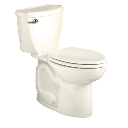 American Standard 270AA001.222 Cadet 3 Right Height Elongated Two-Piece Toilet with 12-Inch Rough-In, Linen by American Standard