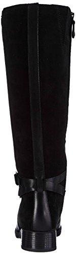 GeoxD FELICITY ABX A - botas y botines de equitación de caña alta forrados Mujer Negro - Schwarz (C9999BLACK)