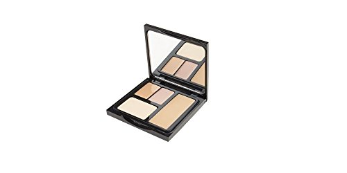 Bobbi Brown Face Touch Up Palette - WARM SAND Skin Foundation Stick, Light Peach Corrector, Sand Creamy Concealer, Pale Yellow Sheer Finish Pressed Powder