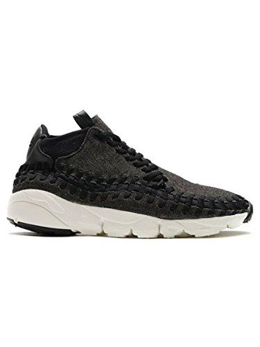 Sneaker Nike Air Footscape Tissé Chukka Édition Spéciale Noir 857874 001 Noir, Noir-ivoire