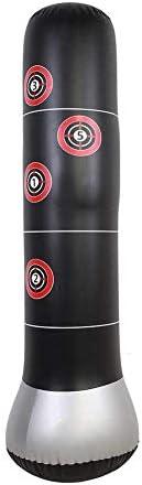Boxing Punch Bag Freestanding Punching Bag, Inflatable Heavy Punching Bag Target Stand Punching Kick Training