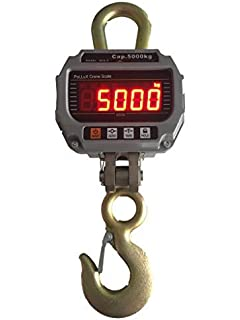Industrial Hanging Scale 5000 KG / 11000 LBS Digital Crane Scales Heavy Duty by PoLLux (